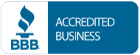 Accredited Member of the Better Business Bureau.